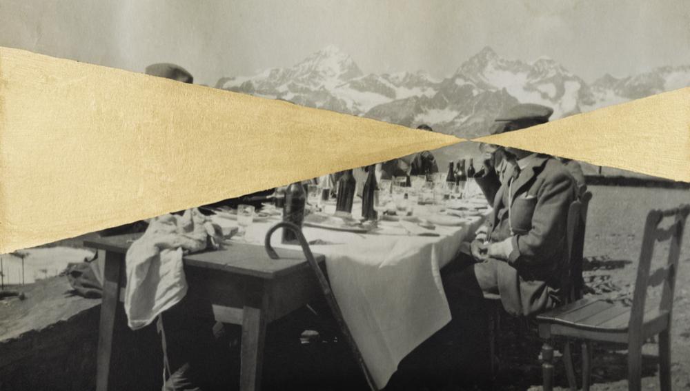 Déjeuner mont blanc