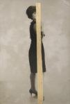 05 - jeune fille posant -40 x 27 cm