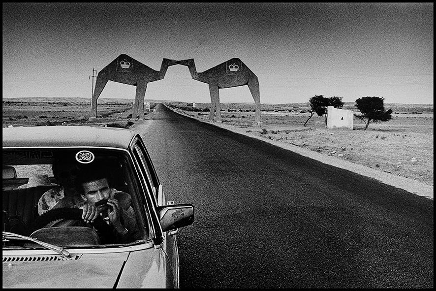 Porte du désert, route de Tan-Tan,1991