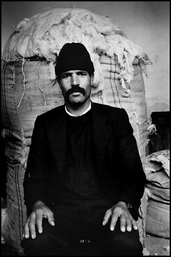 Souk de la laine, Bab Ghissa, Fès, 1998