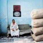 Négociant en coton à Bab Zuwzila